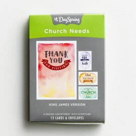 Boxed Cards - Church Needs, KJV