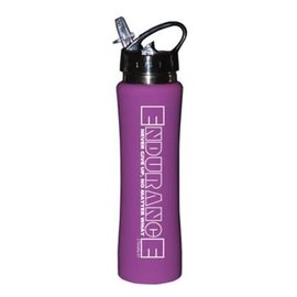 Water Bottle - Endurance, Purple Stainless Steel