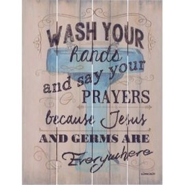 Wall Art - Wash your Hands