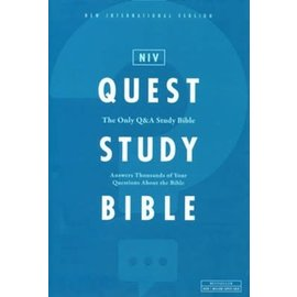 NIV Quest Study Bible, Hardcover