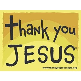 Magnet - Thank You Jesus