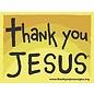 Magnet - Thank You Jesus