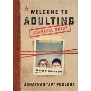 """Welcome to Adulting Survival Guide (Jonathan """"JP"""" Pokluda), Paperback"""