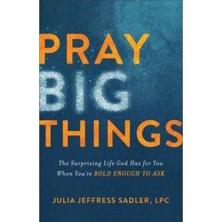 Pray Big Things (Julia Jeffress Sadler), Paperback