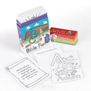 Coloring Cards: ABC Bible Fun