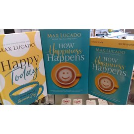 How Happiness Happens + Study Guide + Guided Journal (Max Lucado)