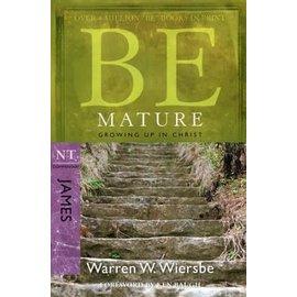 BE Mature: James (Warren Wiersbe), Paperback
