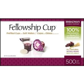 Fellowship Cup, Prefilled 500