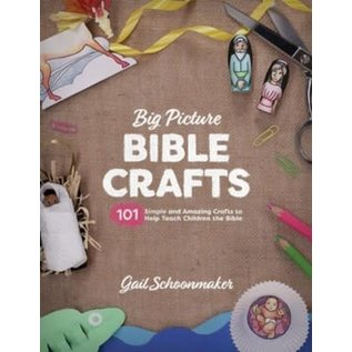 Big Picture Bible Crafts (Gail Schoonmaker), Paperback