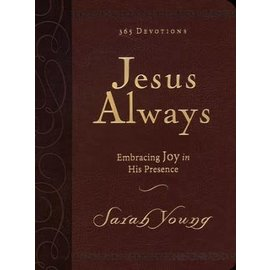 Jesus Always (Sarah Young), Large Print Imitation Leather