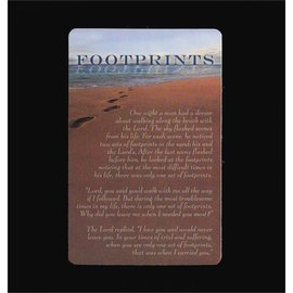 Pocket Card - Footprints