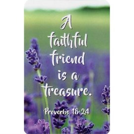 Pocket Card - A Faithful Friend