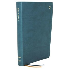 NET Thinline Bible, Teal Leathersoft