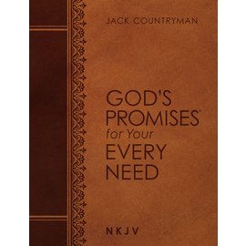 Large Print God's Promises for Your Every Need, NKJV Leathersoft