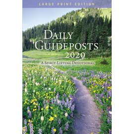 Large Print Daily Guideposts, 2020