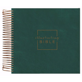 Illustrating Bible, Green (CSB)