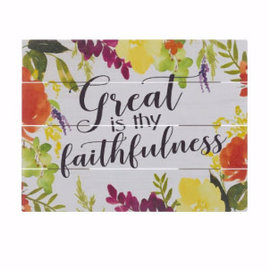 Wall Art - Great is thy faithfulness
