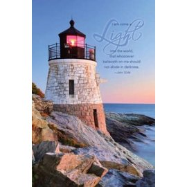 Bulletin - I Am Come A Light (John 12:46 KJV) (Pack Of 100)