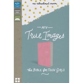NIV True Images Bible for Teen Girls, Pink Leathersoft