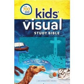 NIV Kids' Visual Study Bible, Teal Leathersoft