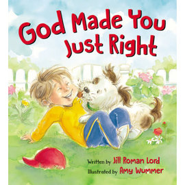 God Made You Just Right (Jill Roman Lord), Board Book
