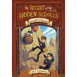 Secret of the Hidden Scrolls #4: Journey to Jericho (M.J. Thomas), Paperback