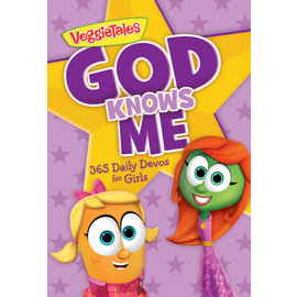 God Knows Me: 365 Daily Devos for Girls, Paperback