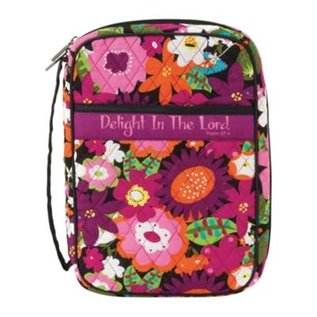 Bible Cover - Delight in the Lord Medium
