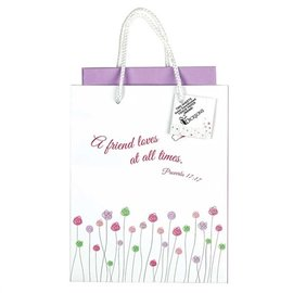 Gift Bag -  A Friend Loves, Medium