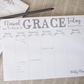 Weekly Planner - Walk in Grace