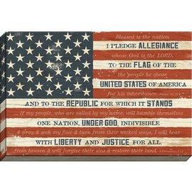 I Pledge Allegiance Flag Canvas