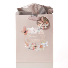Gift Bag - Abundantly Blessed, Medium