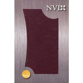 NVI Biblia Ultrafina (Burgundy Slimline Bible, Spanish)