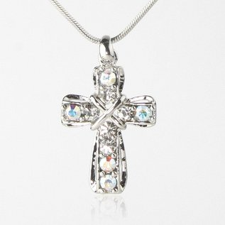 Necklace - Crystal Cross