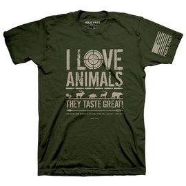T-shirt - HF I Love Animals