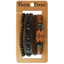 Bracelet - Faith Gear, Copper Cross