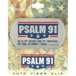 Visor Clip - Psalm 91