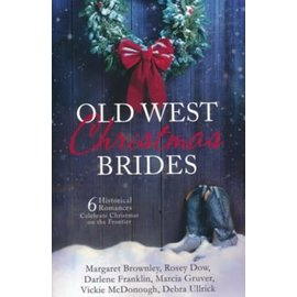 Old West Christmas Brides (6-in-1), Paperback