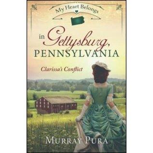 My Heart Belongs in Gettysburg, Pennsylvania (Murray Pura), Paperback