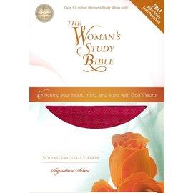 NIV Woman's Study Bible, Rose
