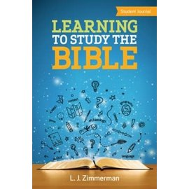 Learning to Study the Bible, Student Journal