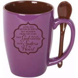 Mug - Sisters of the Heart, Spoon