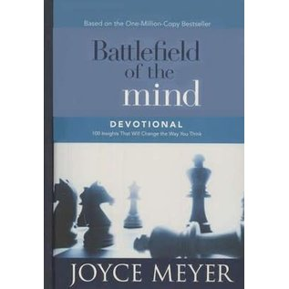 Battlefield of the Mind Devotional (Joyce Meyer), Hardcover