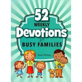 52 Weekly Devotions for Busy Families (Karen Whiting), Paperback
