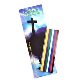 Bible Ribbons w/Bookmark: Plan Of Salvation