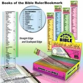 Ruler: Books of the Bible
