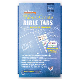 Bible Indexing Tabs - U-Create