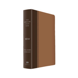 NIV Jeremiah Study Bible, Brown LeatherLuxe, Indexed