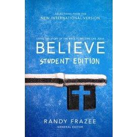 Believe, NIV Student Edition (Randy Frazee), Paperback