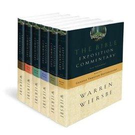 Bible Exposition Commentary, 6-volume set (Warren Wiersbe), Hardcover